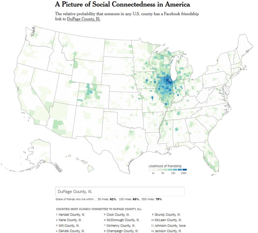 SocialConnectednessDuPageCountyIL