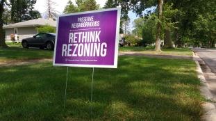 RethinkRezoningSign