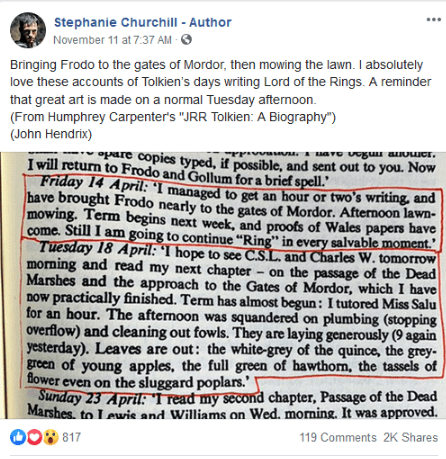ChurchillTolkienMowingthelawn